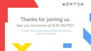 Google Cloud Next '18: Day 1 Next Live Show