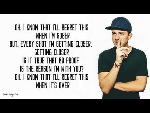 G-Eazy - Sober (Lyrics) ft. Charlie Puth