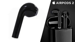 Airpods 2 NEW LEAKS! Pricing, Release Date, Charge Time, Matte Black Color, & Airpods 1 Discontinued