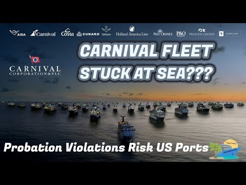 JUDGE THREATENS TO BLOCK CARNIVAL CORP. SHIPS FROM US PORTS!! BREAKING NEWS