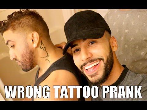WRONG TATTOO PRANK!! (DONKEY IN ARABIC)