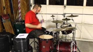 How to play fast rolls on drums for roll offs and solos.
