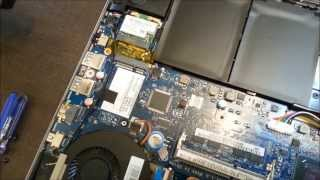 Acer R7 Opening to Upgrade the HDD SSD RAM MSATA on Aspire R7 571 571G 572 572G