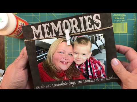 Quick, Easy, Inexpensive and Memorable...Last Minute Gift Idea