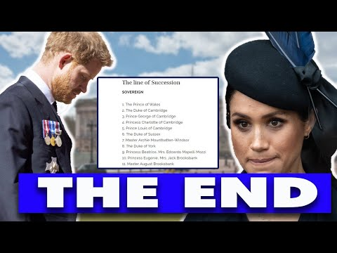 They Reap What They Sow: Sussexes Kids NOT Be In Line Of Throne, Lilibet Snub On The Firm's Website