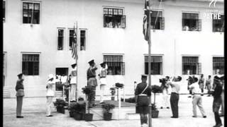 General Templer Installed High Commission Of Federation Of Malaya (1952)