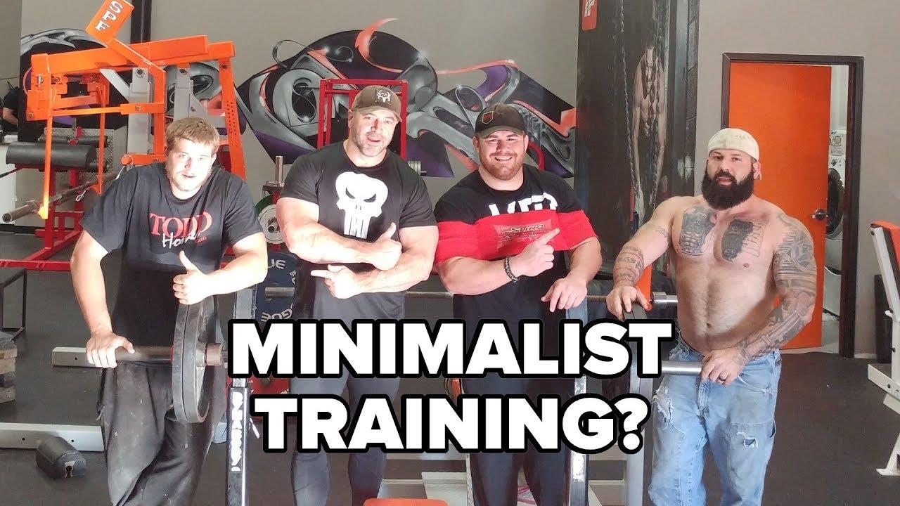 Alpha Destiny on Minimalist Training - Is He Nuts?