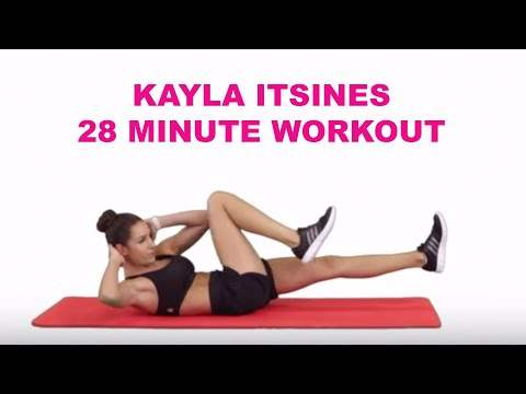 ELLE UK's Exclusive Kayla Itsines 28 Minute Workout