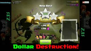 Clash of Clans - Baby Dollars is UNSTOPPABLE! Even without walls