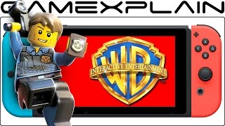 Warner Bros. States 13GB Switch Download is NOT Required for LEGO City Undercover
