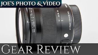 Sigma 17-70mm f/2.8-4 DC Macro OS HSM Contemporary Lens | Gear Review
