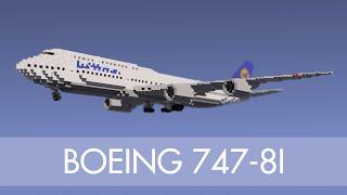 Minecraft Boeing 747-8i (Liveries)