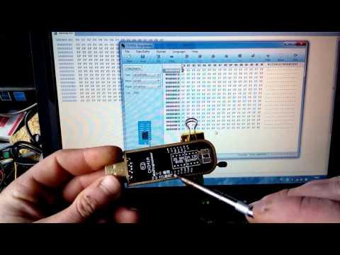 USB программатор на CH341a (как пользоваться ) להורדה