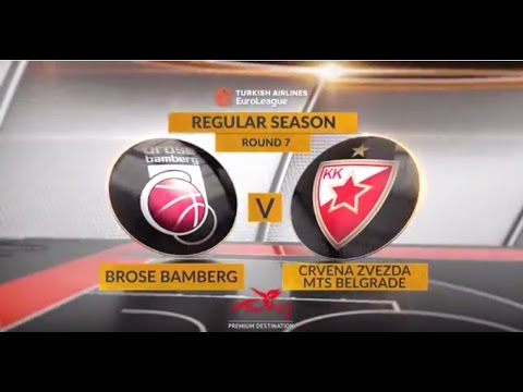 Highlights: Brose Baskets Bamberg-Crvena Zvezda mts Belgrade