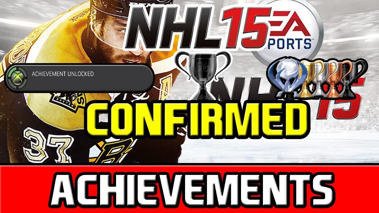 Celly machine Achievement in NHL 15