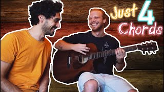 Only 4 Chords - Easy songs to start playing guitar - Sun-Sounds Music Tuition - Malta