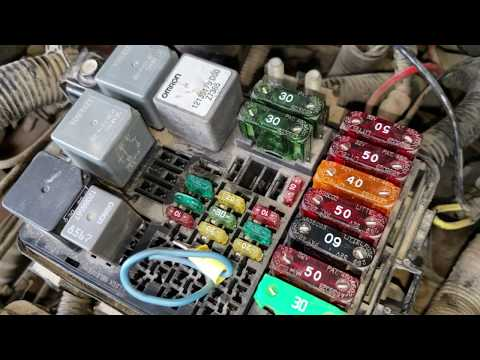 ECM B Fuse Blowing 98 Chevy GMC Problem Found. No Start 5.7 Vortec