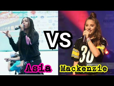 Asia Monet Vs Mackenzie Ziegler