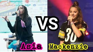 Download Asia Monet Vs Mackenzie Ziegler Mp3