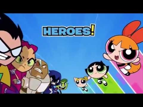 Teen Titans Cute Wallpaper كرتون بالعربية ابطال التايتنز ضد فتيات القوة Champions