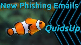 New Tactics on Phishing Email Campaigns
