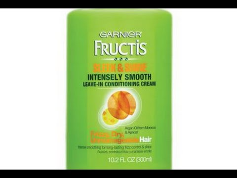 RQR: Garnier Fructis Sleek & Shine Leave-in Conditioner - YouTube