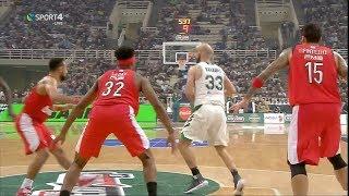 Νίκη του Παναθηναϊκού επί του Ολυμπιακού με 79-70 για την 6η αγ. της Basket League {18.11.2018}