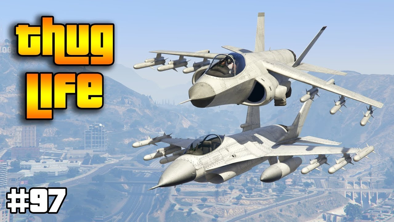 GTA 5 ONLINE : THUG LIFE AND FUNNY MOMENTS (WINS, STUNTS AND FAILS #97)