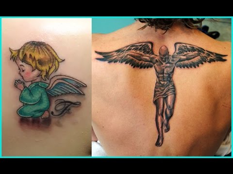 Best Angels Tattoos For Men Angels Tattoos For Women Youtube