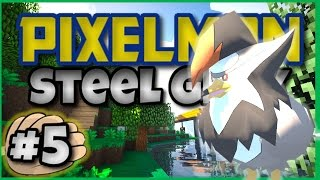 Pixelmon 4.0.5 Adventure Map PIXELMON STEEL GREY Episode 5 ► BREEZING THROUGH GYMS!