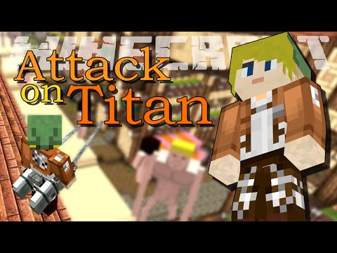 Мод атака титанов для майнкрафт 0.13.1