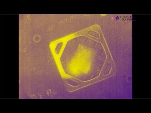 Диагностика неисправностей видеокарт с помощью тепловизора