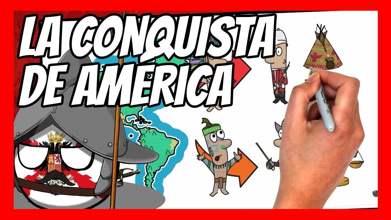 ✅ La CONQUISTA y COLONIZACIÓN española de AMÉRICA | Historia, mitos, verdades, leyenda negra...