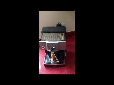krups xp coffee machine review youtube