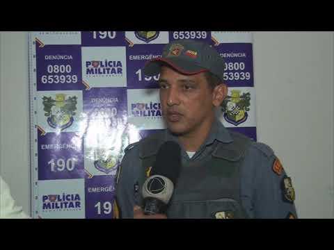 POLICIA MILITAR DE QUERÊNCIA  APREENDE  ARMAS E MUNIÇÕES