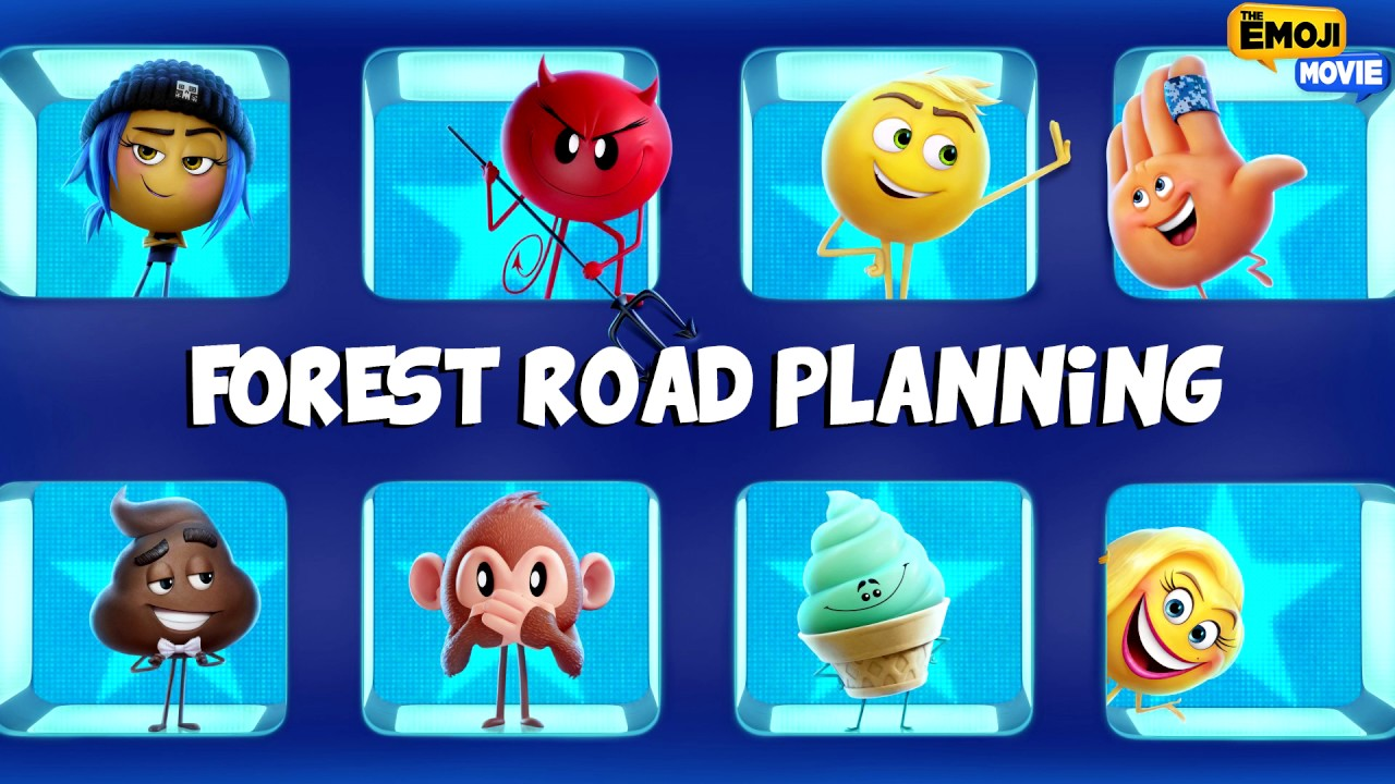Forest Road Planning (The Emoji Movie Soundtrack)