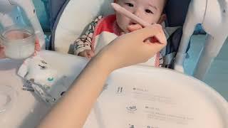 4개월아기 첫이유식시작 승아복승아 첫쌀미음 30ml