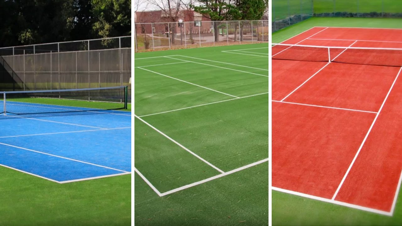 Carpell Surfaces Eco Friendly Synthetic Tennis Surfaces Youtube