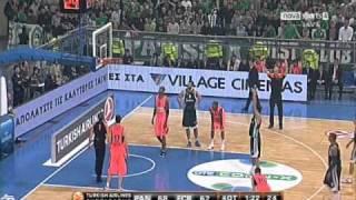 Παναθηναϊκός-Barcelona 78-67 Tα highlights του Παναθηναϊκού