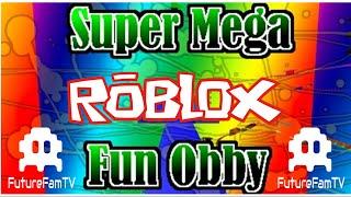 ROBLOX - ¡Juguemos a Super Mega Fun Obby! YouTube Niños Los niños del futuro jugar videojuegos para los niños!