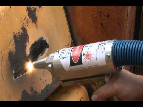 Rust Removal With Lasers