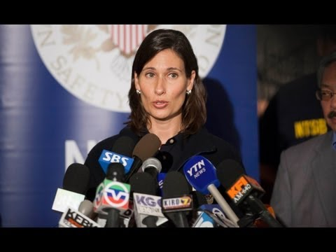 Chairman Hersman's briefs media on Asiana flight 214, July 7, 2013