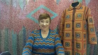 Пальто \КазакИн\. Мастер-класс по вязанию крючком от О. С. Литвиной.