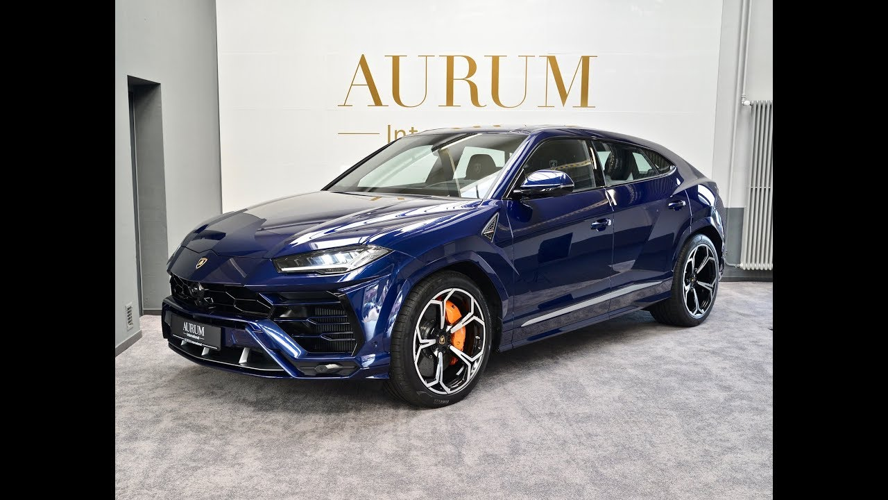Lamborghini URUS *BLUE ASTRAEUS* *4,SEATS* Walkaround by AURUM International
