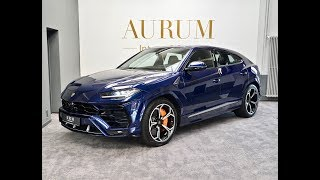 Lamborghini URUS *BLUE ASTRAEUS* *4-SEATS*  Walkaround by AURUM International