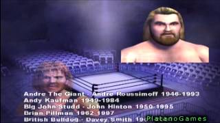 Showdown Legends of Wrestling - Game Memorial Tribute To Wrestlers Who Have Passed Away - HD