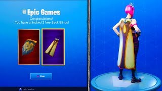HOW TO GET *NEW* FREE BACK BLINGS in Fortnite! - Fortnite Battle Royale FREE ITEMS UPDATE!