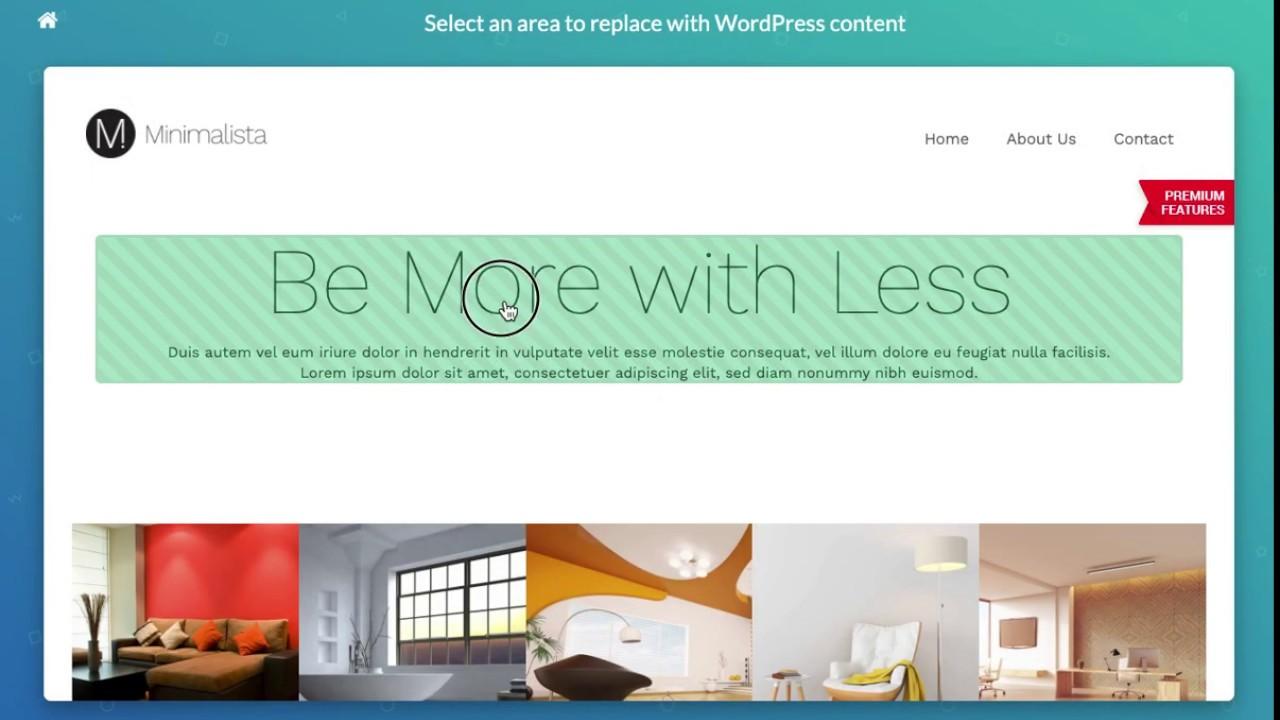 Crea temas WordPress en segundos con ThemeMatcher