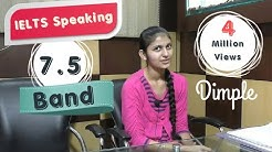IELTS Speaking Test Sample Band 7.5 Interview - IELTS Speaking Indian Student