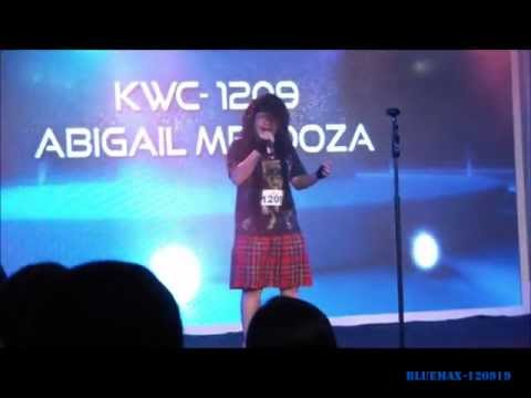 Abigail Mendoza - Karaoke World Championships - Top 10 Female